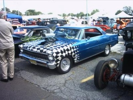 blue and white nova