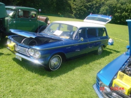 blue corvair wagon