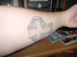 my forearm tattoo 2
